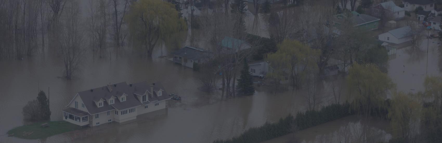 Inondations2017: recensement à Rigaud en vue de l'hiver